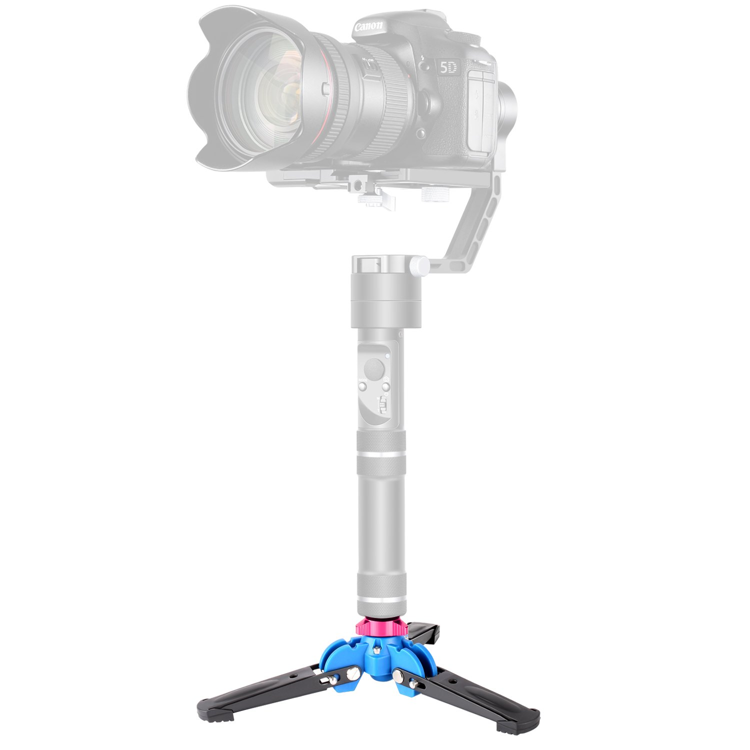 Neewer Foldable Tripod Monopod Stand Base Three Feet Suppor