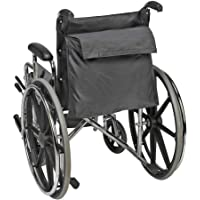 HNYG Mochila para silla de ruedas, color negro