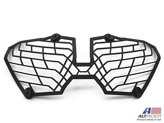 Amazon Com Altrider At16 2 1104 Stainless Steel Mesh Headlight