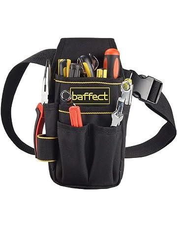 Baffect - Bolsa de herramientas de lona con cinturón de nailon ajustable f95bcc598548