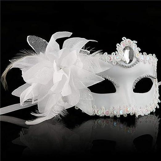 Mascara De Halloweenmáscara Veneciana Flor De Venecia Fiesta De ...