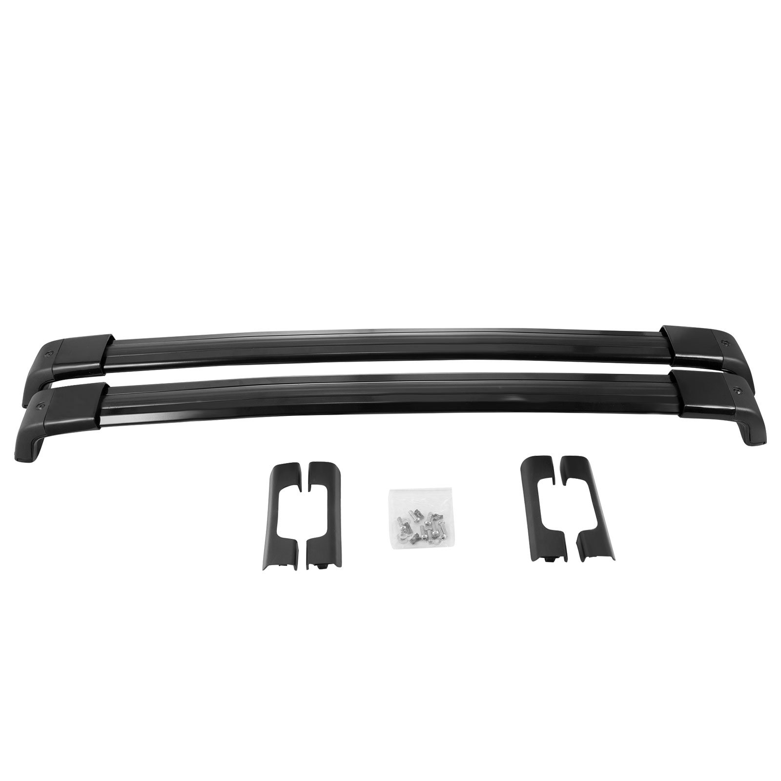SucceBuy Roof Rack Cross Bars For 2007-2014 Roof Rack Rail Cross Bar Max 200LBs Luggage Roof Rack Bars For Cars Aluminum Alloy by SucceBuy (Image #9)