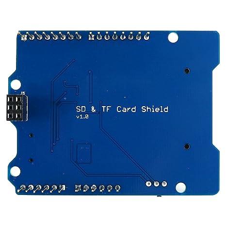 SD/TF Card escudo V1.0 Tarjeta de expansión módulo para ...