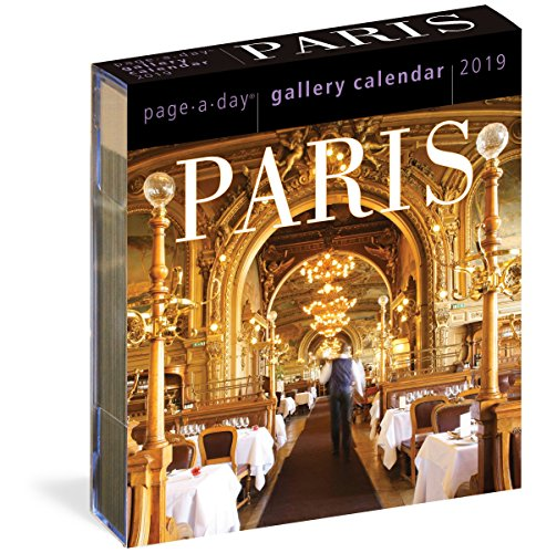 Paris Page-A-Day Gallery Calendar 2019