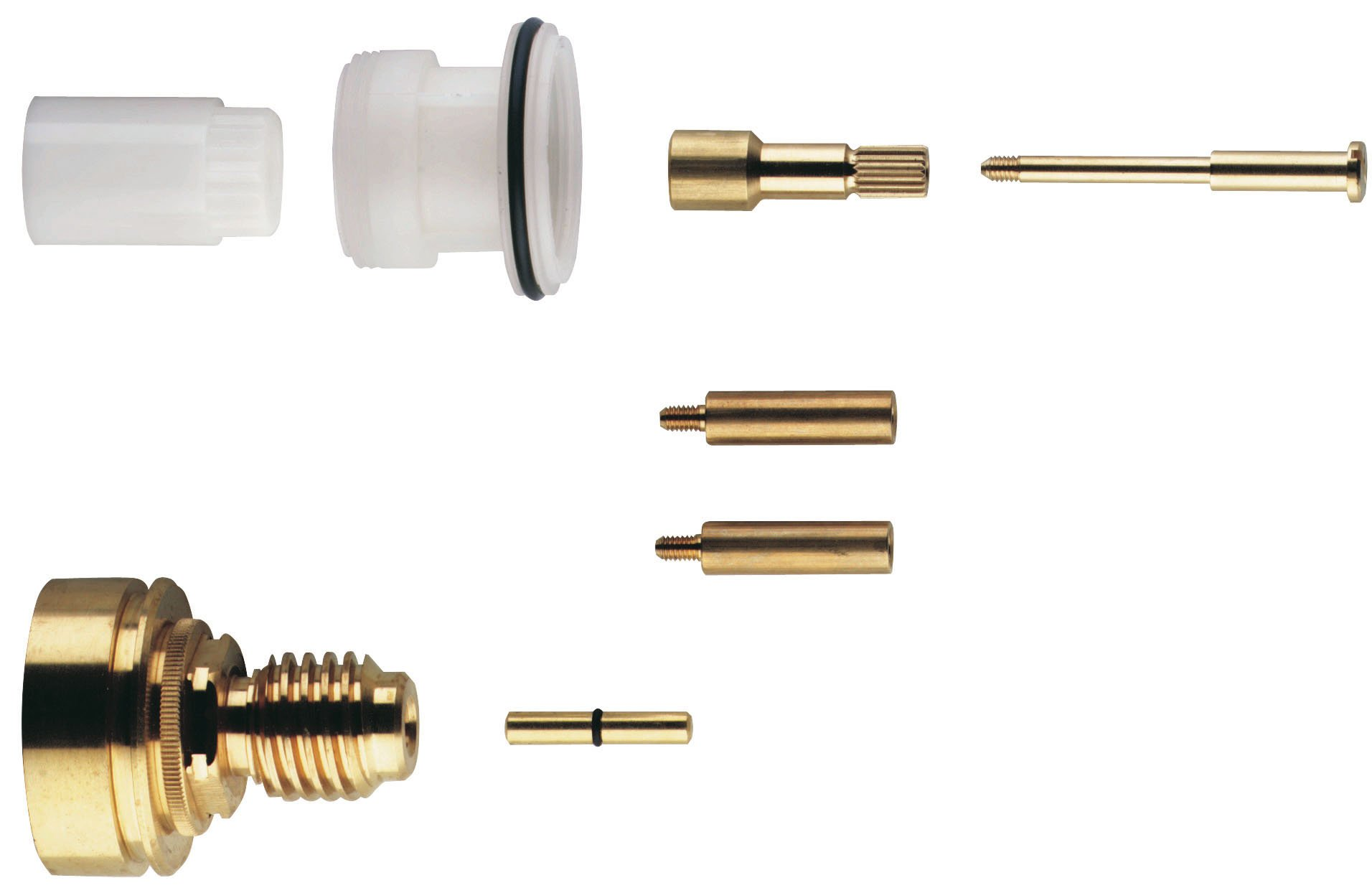 1-1/8 In. Extension Kit For Grohtherm Rough-In Valves (34 907), (34 908), (34 909), (34 122), (34 124)