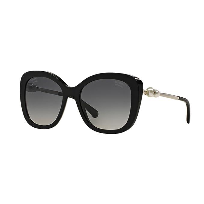 a basso prezzo 46042 5bd88 Occhiali da sole Chanel CH5339H C501S8 nero black sunglasses ...