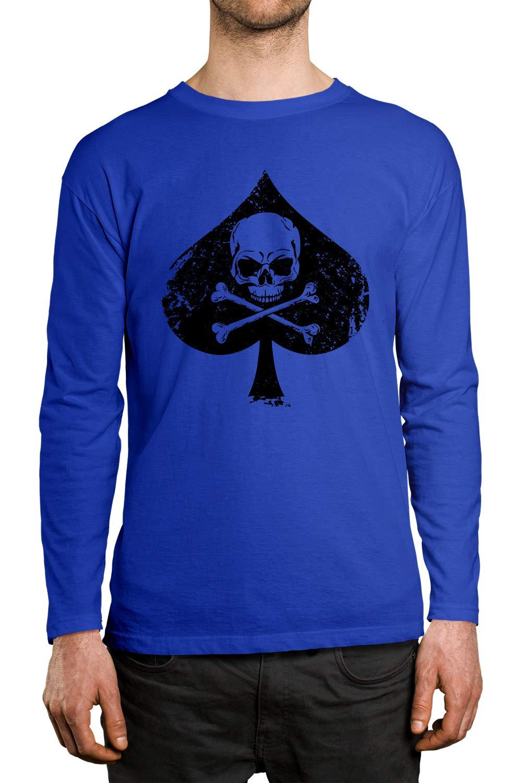 Apparel Ace Of Spades Skull Crossbones S Shirt