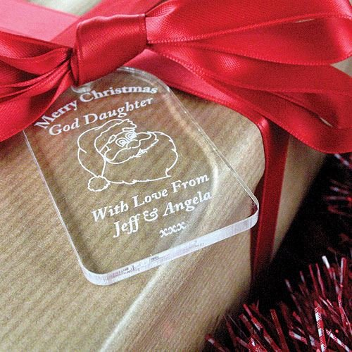 god daughter xmas gift god daughter christmas gifts god daughter gift tag god daughter labels amazoncouk kitchen home