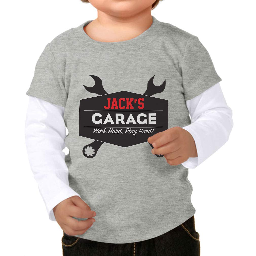 Amazon Personalized Custom Garage Work Hard Play Hard Long