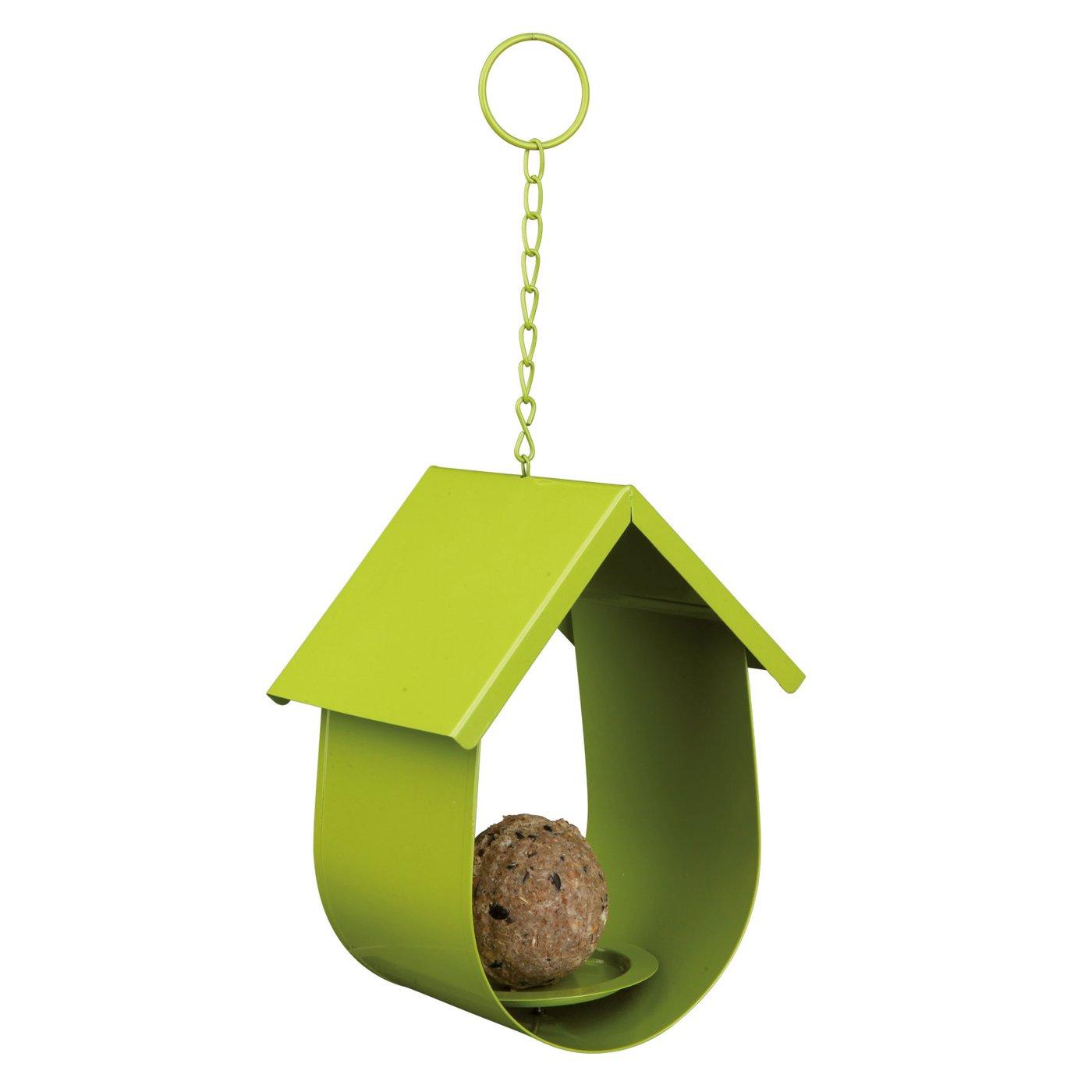 Trixie Mangeoire Boule de Graisse pour Oiseaux Argent 14 × 19 × 12 cm 4011905556383