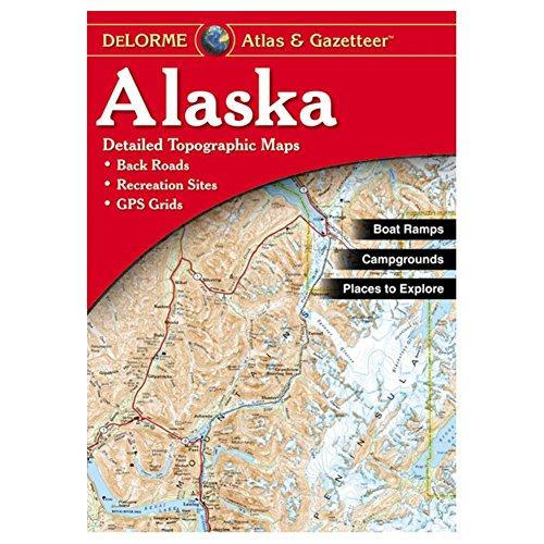 Garmin Delorme Atlas & Gazetteer Paper Maps- Alaska, AA-000004-000