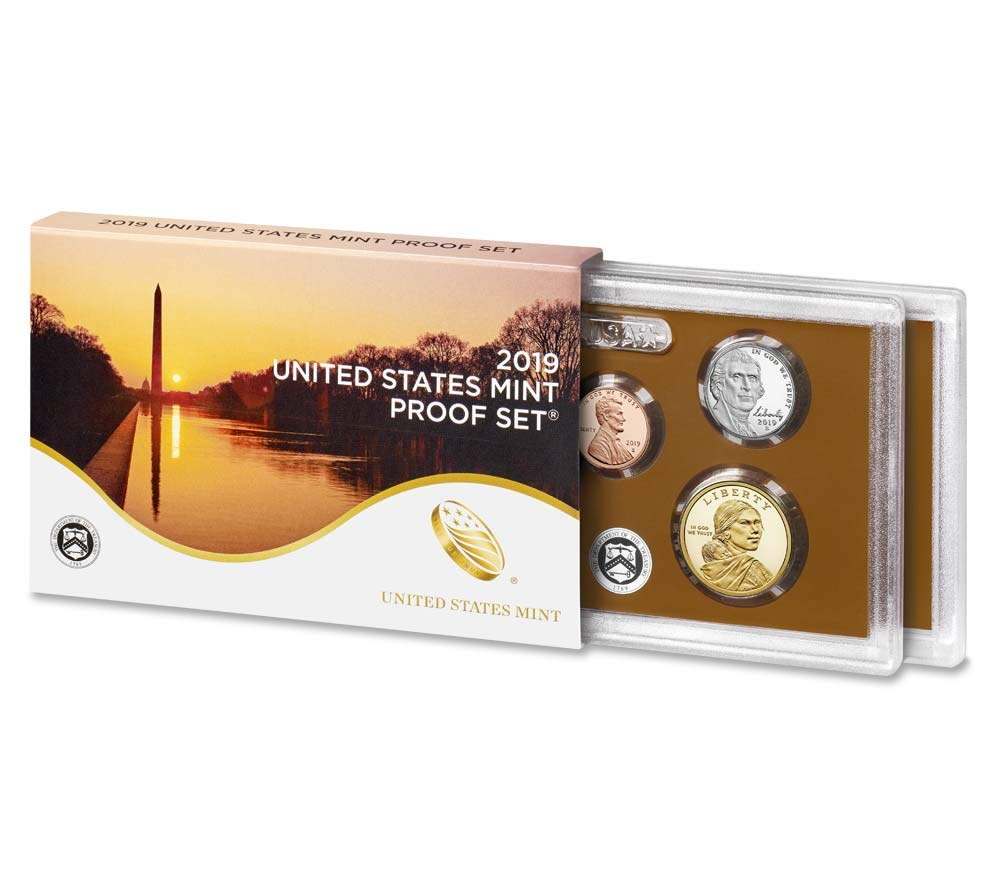 1985 Proof Set Box and Lens ONLY
