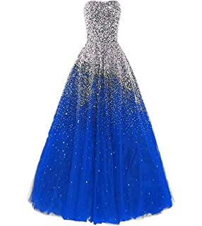 d2d1516595 Dressesonline Women s Luxury Prom Dresses Long with Rhinestones Evening  Pageant Gowns