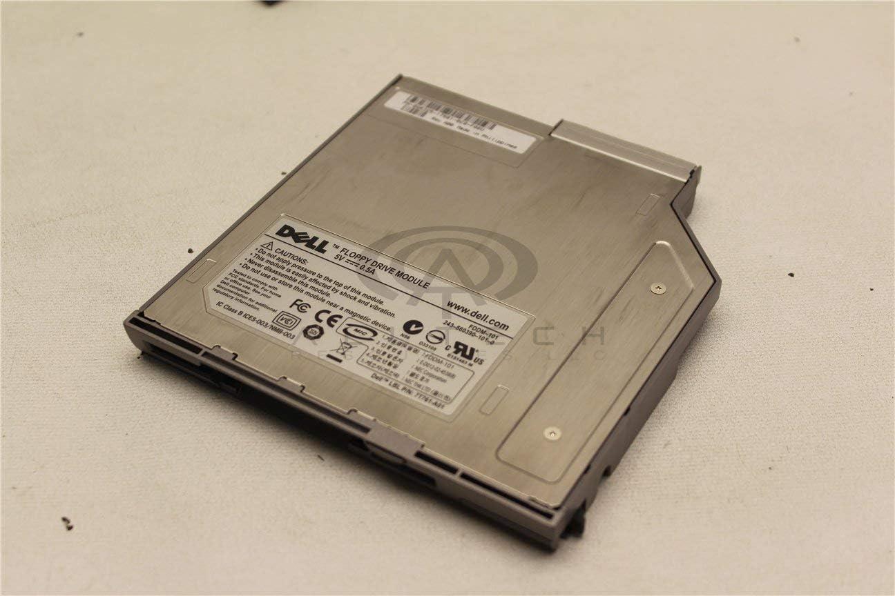 Dell Drive Gray Slot Load FDDM-101 GR325 Latitude D600 D610 D620 D630 D820