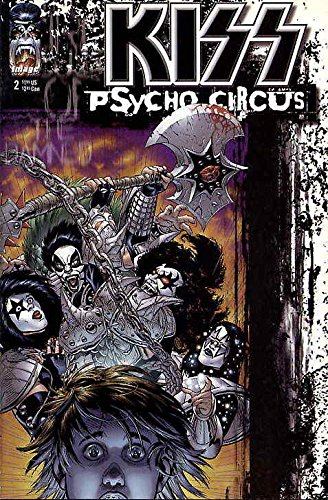 Kiss: Psycho Circus #2 VF ; Image comic book