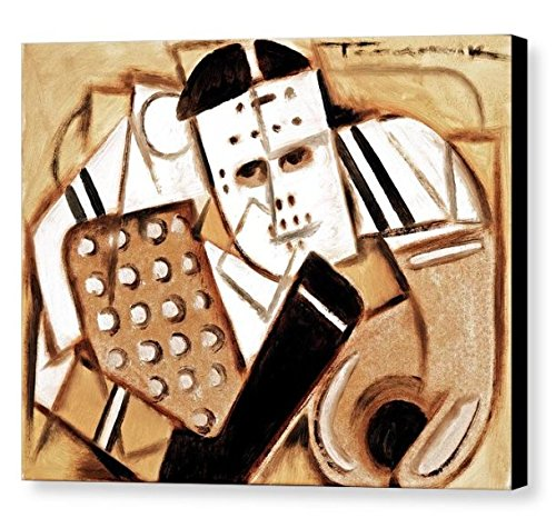 Amazon Com Tommervik Vintage Hockey Goalie Art Hockey Art Hockey