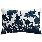 Barbara Barry Kimono Queen Pillow Sham Cotton Indigo by Barbara Barry