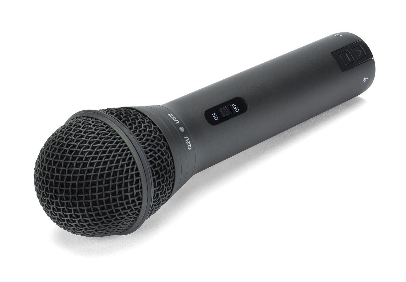 Samson Q2u Black Handheld Dynamic Usb Microphone With Knox