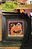 Stage Fright 706 Halloween Punch Needle Pattern Threads That Bind Jack O Lantern Pumpkin