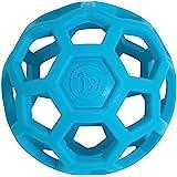 JW HOL-ee Roller Original Treat Dispensing Dog Ball - Hard Natural Rubber - Assorted Colors
