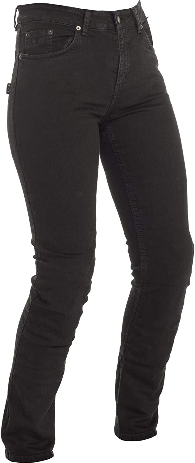 Richa Black Nora Slim Womens Motorcycle Jeans