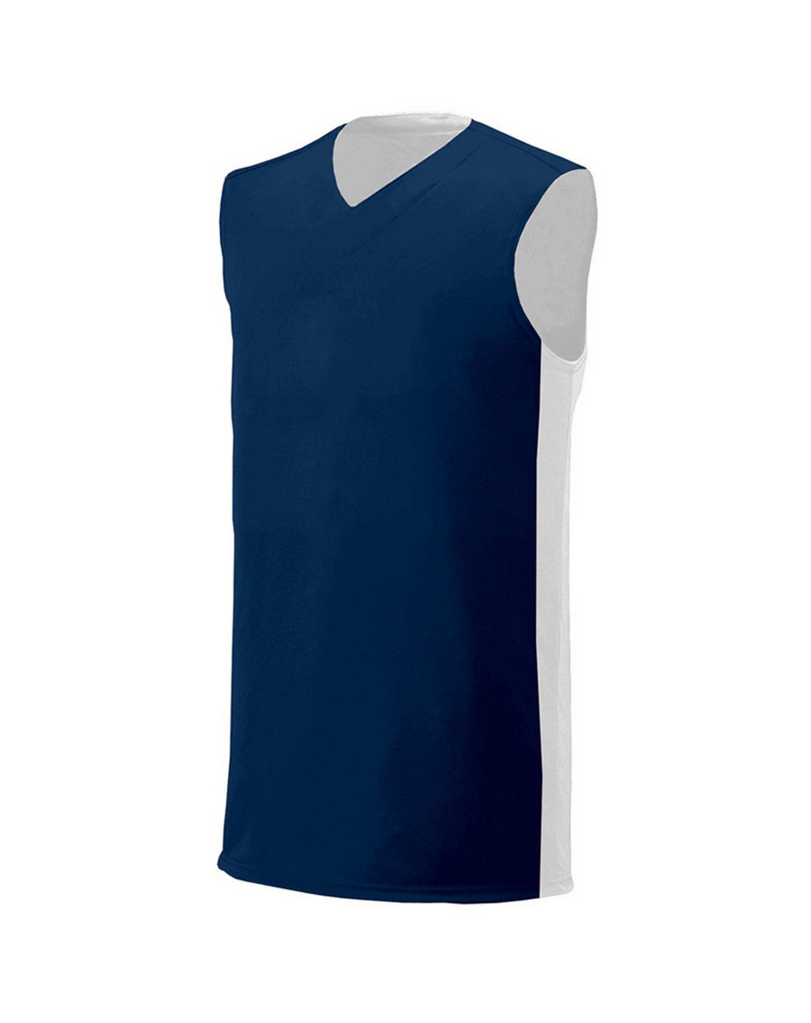 A4 NB2320 Youth Reversible Moisture Management Muscle Navy/White