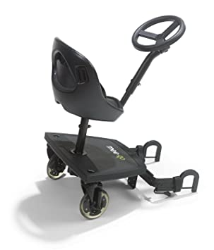 Mee Go Sit N Ride 2 Wheeled Rider Universal Buggy On Board With Seat