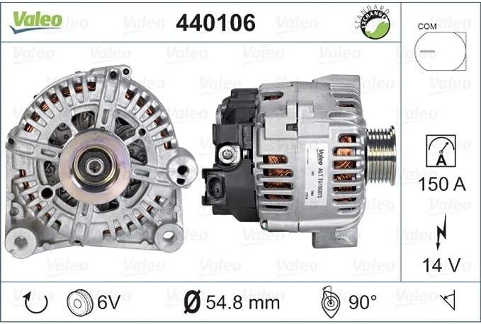 Valeo 440106 Val 440106 Lichtmaschinen Auto