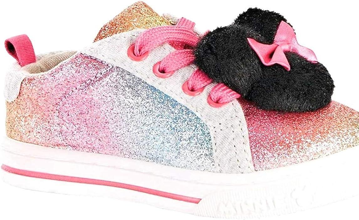 pink glitter sneaker