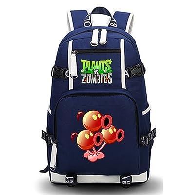 50%OFF Siawasey Cute Plants Zombie Hot Game Bookbag Backpack School Bag laptop bag