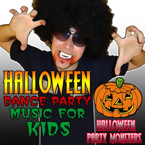 Halloween Dance Party Music for Kids [Clean] -