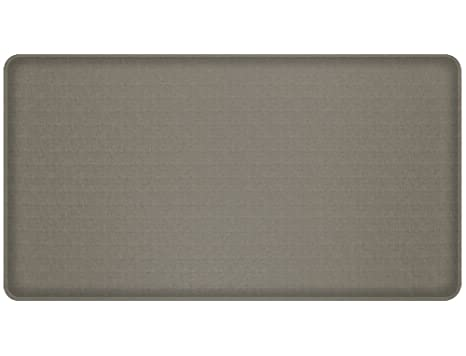 Gelpro Classic Anti Fatigue Kitchen Comfort Chef Floor Mat 20x36 Linen Granite Gray Stain Resistant Surface With 1 2 Gel Core For Health And