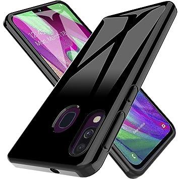 b3e977d25a2 LK Funda para Samsung Galaxy A40, Carcasa Cubierta TPU Silicona Goma Suave  Case Cover Play Fino Anti-Arañazos: Amazon.es: Electrónica