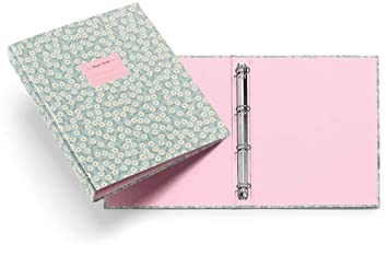 Miquelrius 20826 - Carpeta 4 anillas 25 mm, diseño floral sweet: Amazon.es: Oficina y papelería