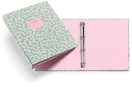 Miquelrius 20826 - Carpeta 4 anillas 25 mm, diseño floral sweet