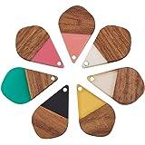 Palisanderfarbene Wooden Dragonfly Decoration Blanks Sizes Selection