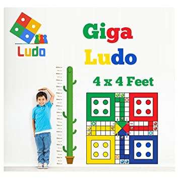 Big Size Ludo XL High Definition Large Family Outdoor Play for Kids, Youngster Party Game