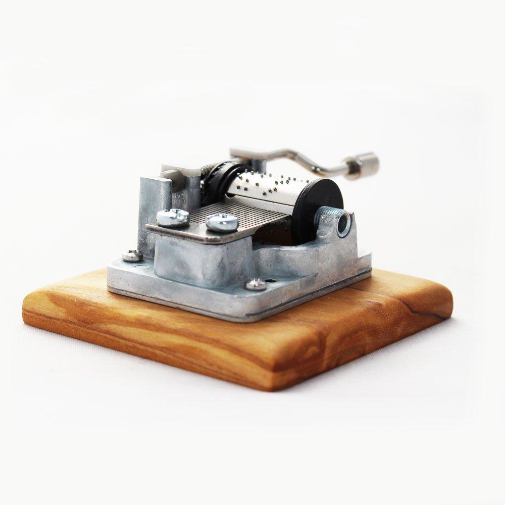Spieluhr aus Holz\