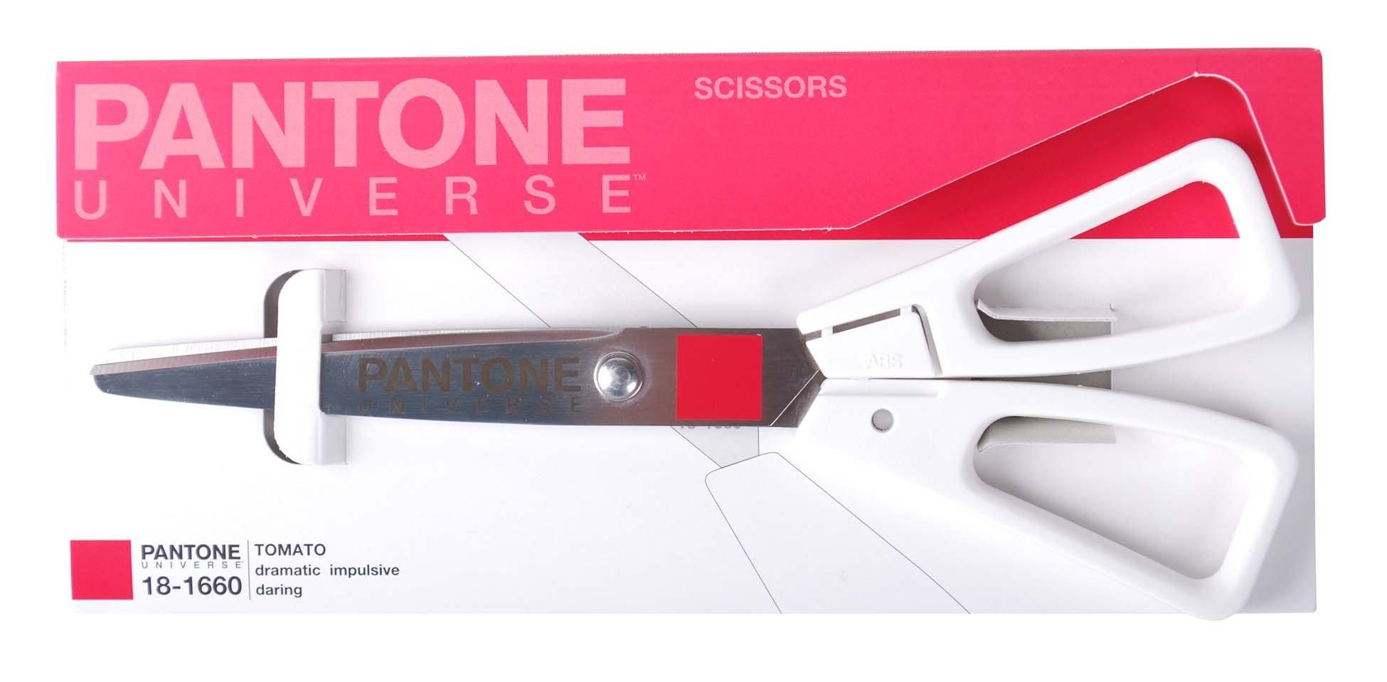Pantone Universe Scissors, 6.75 Inches, Tomato...