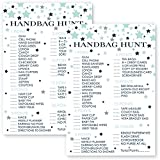 Star What's In Your Purse Game Cards - Set of 25 - Navy and Mint
