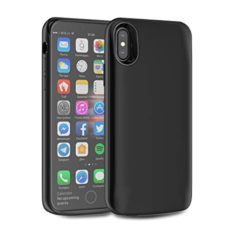 FindaGift Funda iPhone X Cargador de batería Case 3600mAh ...