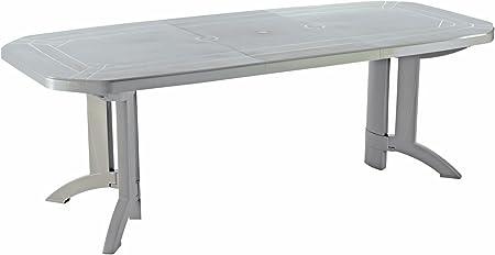 GROSFILLEX Vega Table, Lin, 220 x 100 x 72 cm