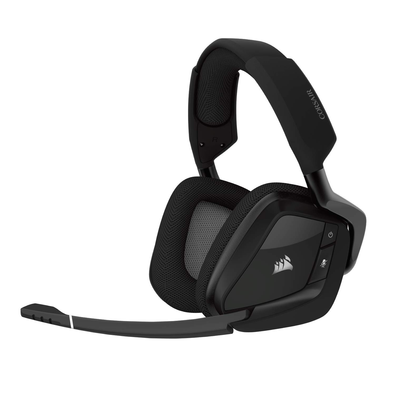 CORSAIR Void PRO RGB Wireless Gaming Headset - Dolby 7.1 Surround Sound Headphones for PC - Discord Certified - 50mm Drivers - Carbon by Corsair