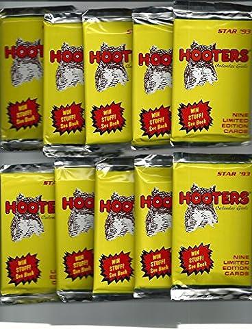 HOOTERS CALENDAR GIRLS Limited Edition (5 SEALED PACKS 1993) - Hooters Calendar