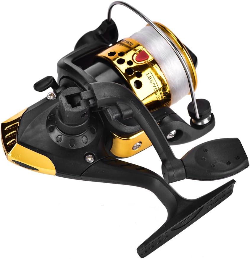 Carretes de pesca spinning Carretes de pesca de mar Carrete de ...