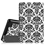 Fintie Slim Shell Case for Amazon Fire (Previous 5th Generation, 2015 7 inch) - Super Slim Lightweight Standing Cover, Versailles