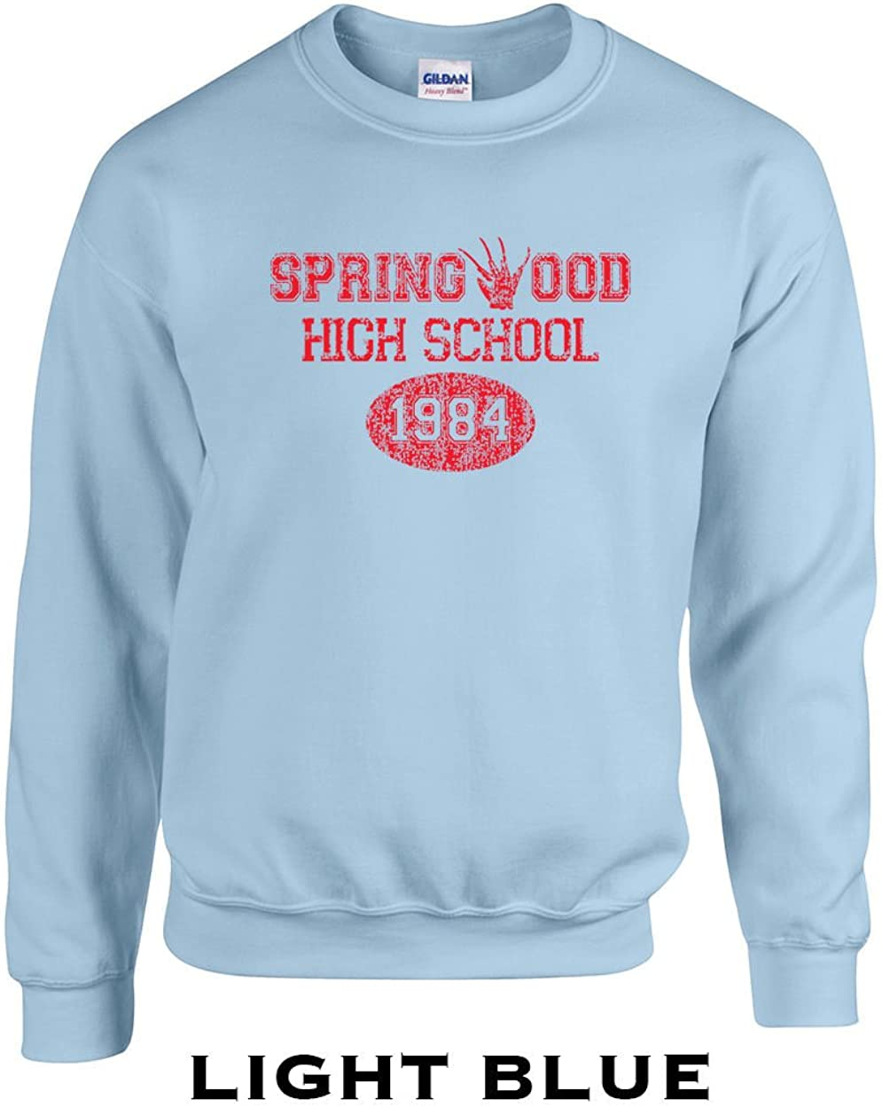 Swaffy Tees 356 Springwood High School Funny Adult Crew Sweatshirt