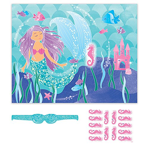Mermaid Party Game for 14 (Donkey Party Game)