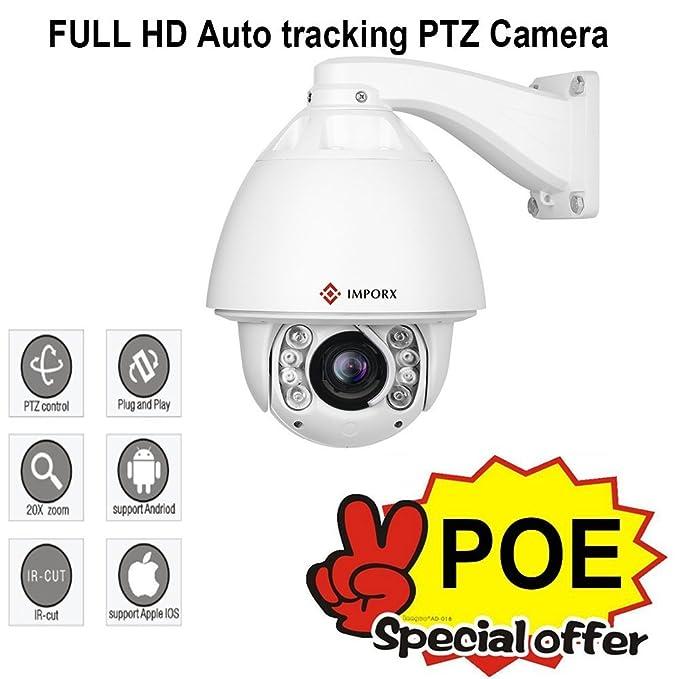 IMPORX POE PTZ Auto Tracking Camera 20X Optical Zoom: Amazon