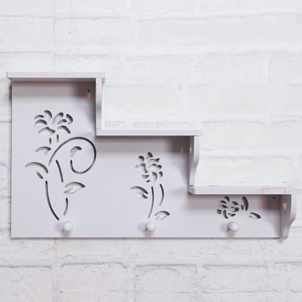 Hookup Estantería de pared/perchero de pared escalera ...